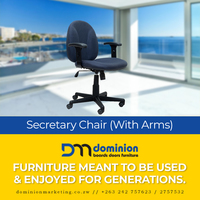 Secretary Chair with Arms